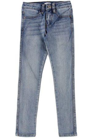Grunt Flicka Jeggings - Jeans - Jegging Super Stretch - Reuse Lt. Blue