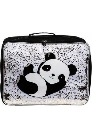 A Little Lovely Company Resväskor - Resväska - Glitter - Panda