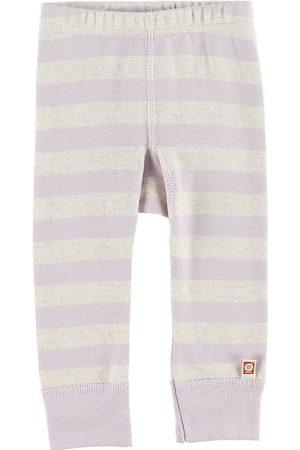 Katvig Leggings - Gråmelerad/Lavendel
