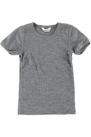 Joha T-shirt - Ull - Gråmelerad
