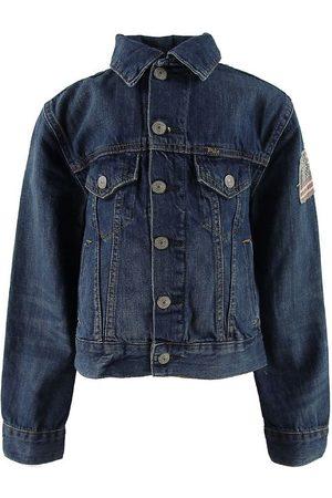 Ralph Lauren Pojke Jeansjackor - Polo Denimjacka - Mörkblå