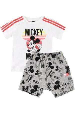 adidas Shortsset - Mickey Mouse - /Gråmelerad