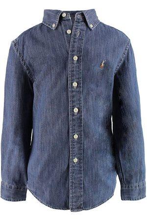 Ralph Lauren Polo Skjorta - Denim