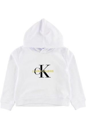 Calvin Klein Flicka Hoodies - Hoodie - m. Logo