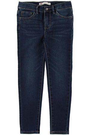 Levis Jeans - 710 Super Skinny - Mörkblå Denim