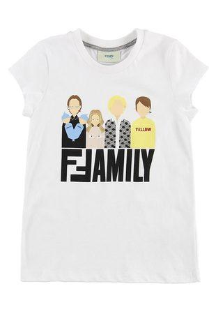 Fendi Flicka T-shirts - Kids T-shirt - m. Family
