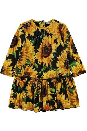 Dolce & Gabbana Flicka Trosor - Klänning m. Bloomers - Sunflower - /