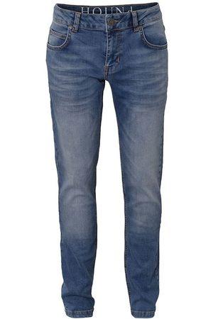 Hound Flicka Straight - Byxor - STRAIGHT Jeans - Blue Denim