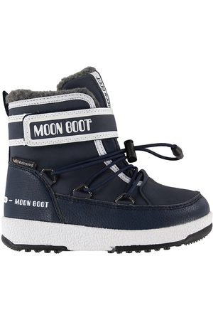 Moon Boot Pojke Vinterskor - Vinterkängor - TEX - Jr Boy Boot WP - Marinblå/