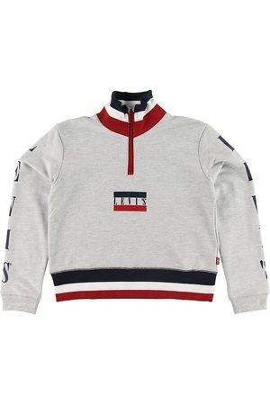 Levi's Pojke Sweatshirts - Sweatshirt - Half Zip - Gråmelerad