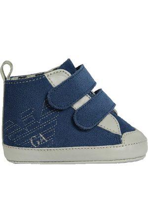 Emporio Armani Pojke Tofflor - Innerskor - Sneakers - Blå/Grå