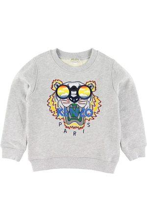 Kenzo Sweatshirts - Sweatshirt - Gråmelerad m. Tiger