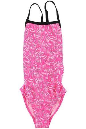 Funkita Flicka Baddräkter - Baddräkt - Eco Tie Me Tight - UV50+ - Painted Pink