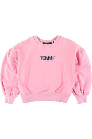 Tommy Hilfiger Flicka Sweatshirts - Sweatshirt - m. Logo
