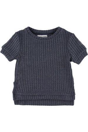 Christina Rohde T-shirt - Stickad - Koksgrå