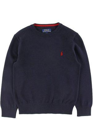 Ralph Lauren Pojke Pikétröjor - Polo Tröja - Stickad - Marinblå
