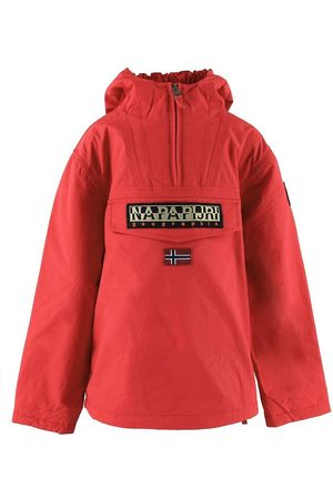 Napapijri Vinterjackor - Vinterjacka - Rainforest Anorak - High Risk Red