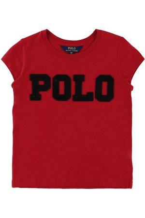 Ralph Lauren Flicka Pikétröjor - Polo T-shirt - m. /Paljetter
