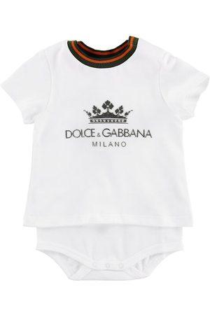 Dolce & Gabbana Body m. T-shirt K/Ä - m. Logo