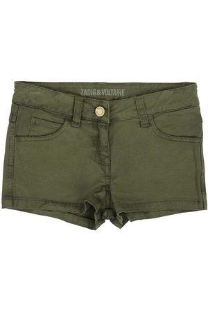 Zadig & Voltaire Flicka Shorts - Shorts - Denim - Militärgrön