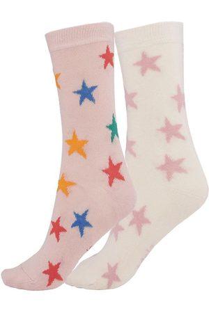 Molo Strumpor - 2-pack - Nesi - Rainbow Stars