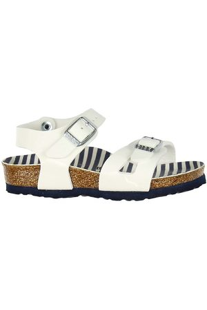 Birkenstock Flicka Sandaler - Sandaler - Rio - Nautical Stripes White