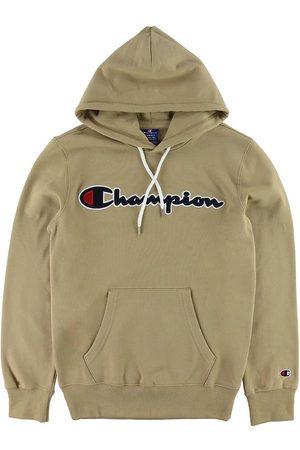 Champion Hoodies - Fashion Hoodie - Khaki m. Logo