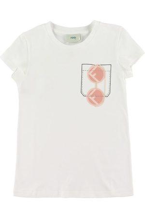 Fendi Flicka Solglasögon - T-shirt - m. Ficka/Solglasögon