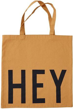 Design Letters Väskor - Tygkasse - Hey - Currygul