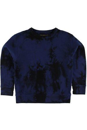 Finger in The Nose Pojke Sweatshirts - Sweatshirt - Brian - Navy Tie & Dye