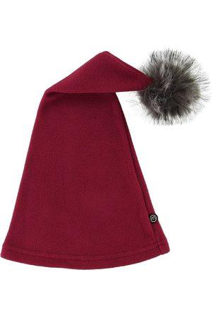 Minymo Tomtemössa - Fleece - Röd