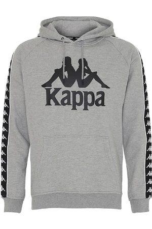 Kappa Hoodies - Hoodie - Banda Bzaba - Gråmelerad m. Logo