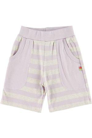 Katvig Shorts - Gråmelerad/Lavendel