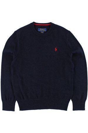 Ralph Lauren Pojke Pikétröjor - Polo Tröja - Stickat - Marinblå m. Logo