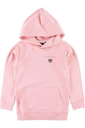 GANT Flicka Hoodies - Hoodie - Shield - Preppy Pink