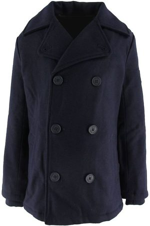HUGO BOSS Pojke Vinterjackor - Jacka - Smart Casual - Ull - Navy