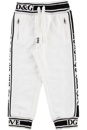 Dolce & Gabbana Sweatpants - m. Logo Ränder