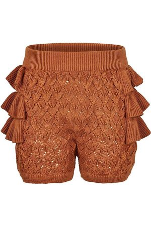 En Fant Bloomers - Stickad - Leather Brown