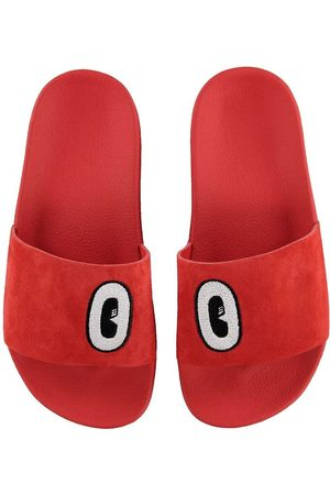 adidas Flicka Sandaler - Strandsandaler - Adilette - Active Red m. Ögon