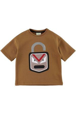 Fendi Kids T-shirt - 3/4 - m. Lås