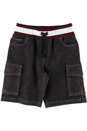 Dolce & Gabbana Pojke Shorts - Shorts - Denim - Koksgrå