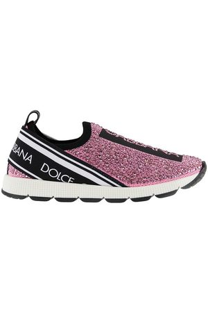 Dolce & Gabbana Flicka Sneakers - Sneakers - m. Strass