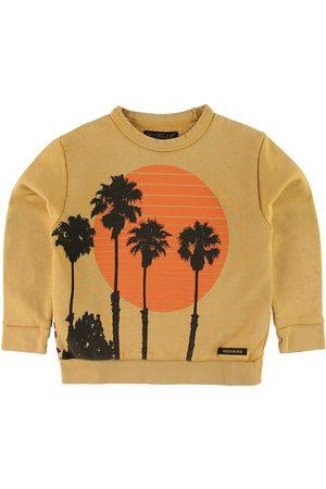 Finger in the Nose Pojke Sweatshirts - Sweatshirt - Brian - Mustard Sunset