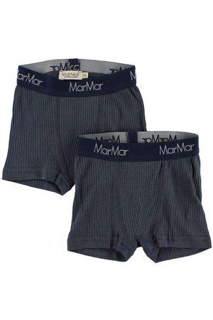 MarMar Pojke Kalsonger - Boxershorts - 2-pack - Marinblå