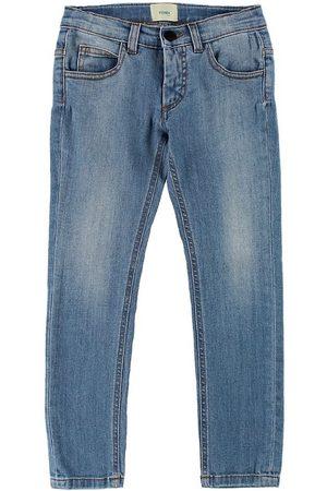 Fendi Flicka Jeans - Kids Jeans - m. Hjärtan
