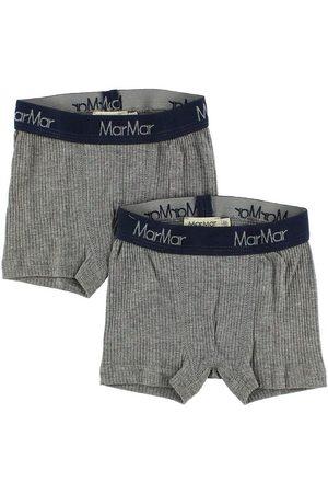 MarMar Boxershorts - 2-pack - Gråmelerad