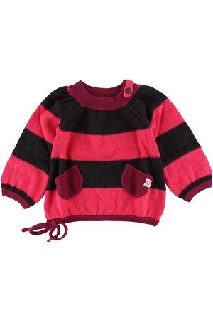 Katvig Flicka Stickade tröjor - Stickad tröja - /Korallrandig