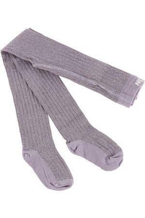 Melton Strumpbyxor - Lavendel Glitter