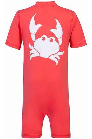 Petit Crabe Flicka Baddräkter - Våtdräkt/baddräkt - Noe - UV50+ - Mörk Korall m. Kra