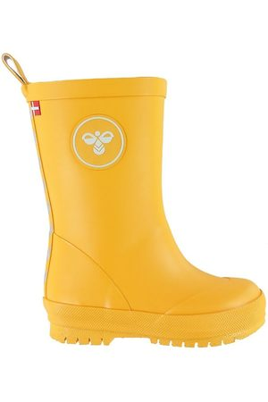 Hummel Boots - Gummistövlar - HMLRubber Boot Jr - Sports Yellow